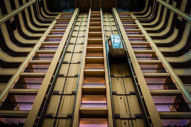 Elevator by Aaron Hockley Flickr