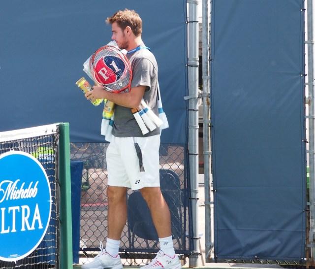 Stan Wawrinka Yonex racquets