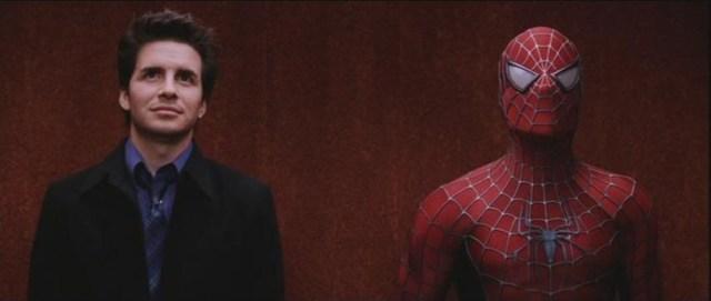 Spiderman in the elevator