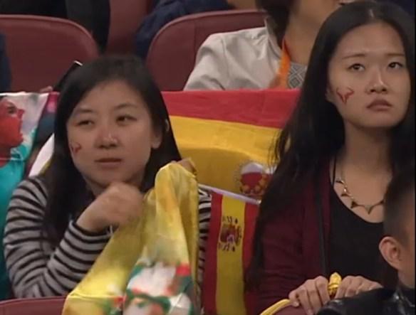 Distressed Rafa fans