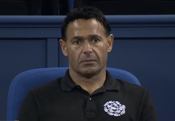 Grigor Dimitrov coach Roger Rasheed staring zombie pose Shanghai Masters 2014
