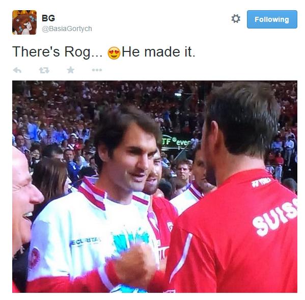Roger Federer Stanislas Wawrinka Swiss