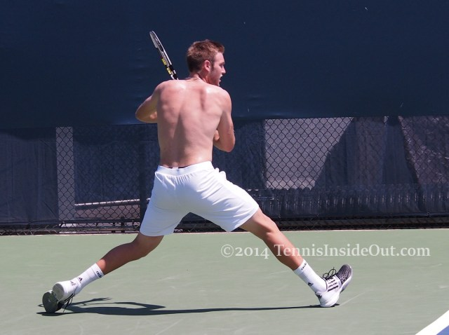 Western and Southern Open tennis Jack Sock shirtless topless practice naked back muscles hot ass pics photos images