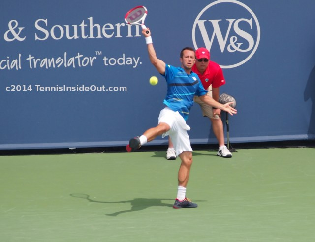 Philipp Kohlschreiber Western and Southern Open Cincinnati Masters 2015 one-handed backhand