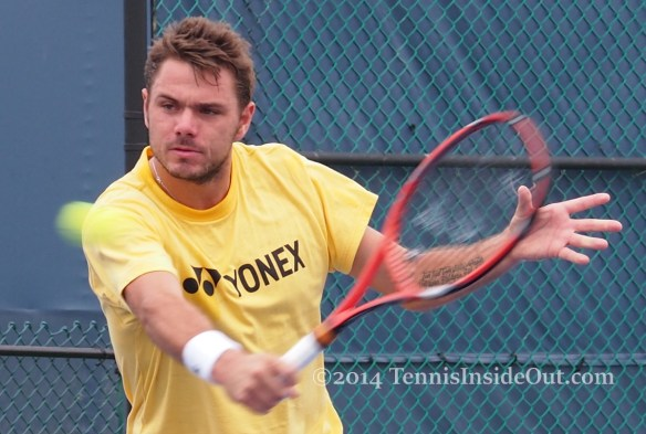 Cincinnati Stan Wawrinka backhand volley