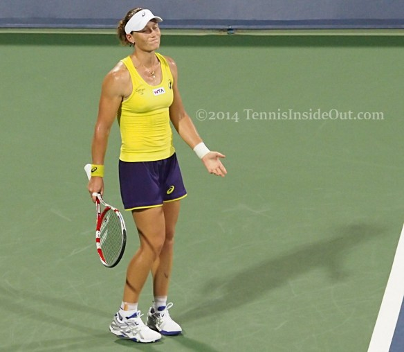 Cincinnati Premier tennis Sam Stosur lament frustrated pics photos images
