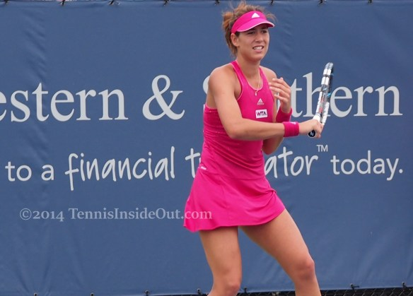 Western and Southern Open premier Garbine Muguruza photos pics images