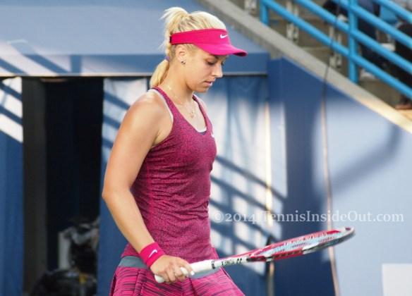 Beautiful Sabine Lisicki contemplation tennis racquet pretty tennis girls