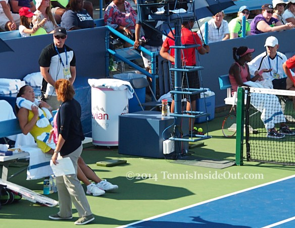 Jelena Jankovic MTO Sloane Stephens match Cincinnati 2014 pics photos images