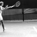 Cincinnati Petra Kvitova forehand leftie practice pics
