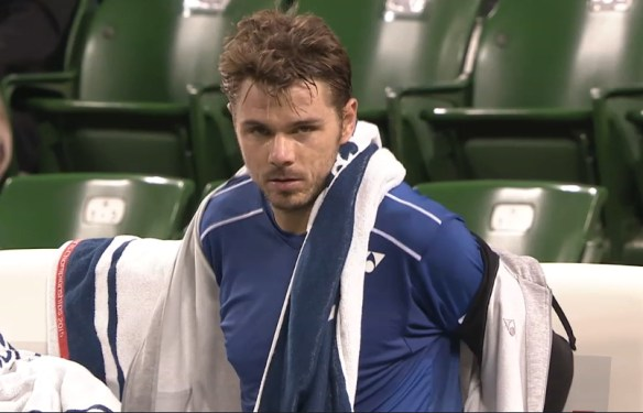 Stan Wawrinka Japan Open 2015 sexy stare