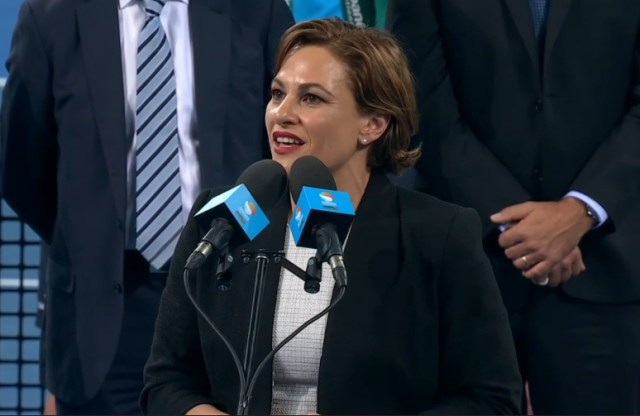 Premier speech 9 Brisbane 2016 Jackie perplexed