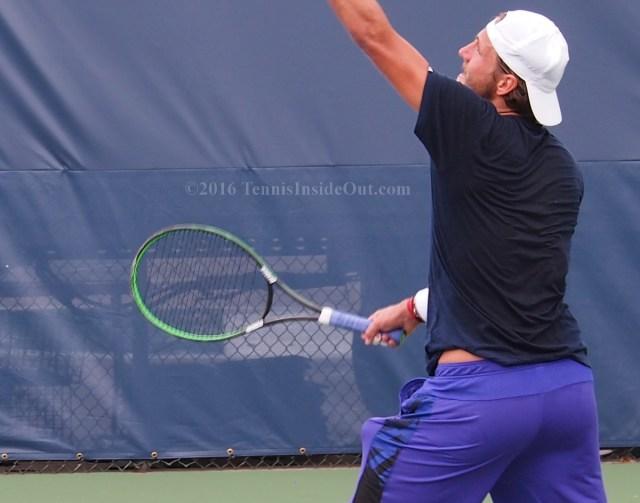 tennis ball toss
