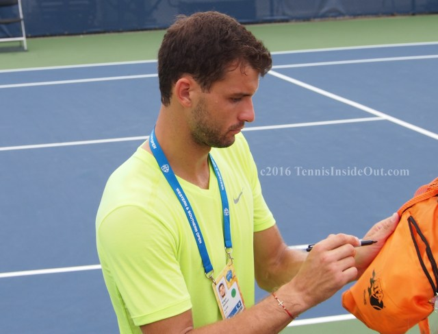 Sexy long fingers graceful hands Bulgarian Grigor Dimitrov