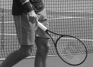 Federer bulge sexy Rog black Wilson racquet demo model elegant hands fingers wristband Nike photos