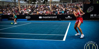 Cornelia Lister i Australian Open 2020.