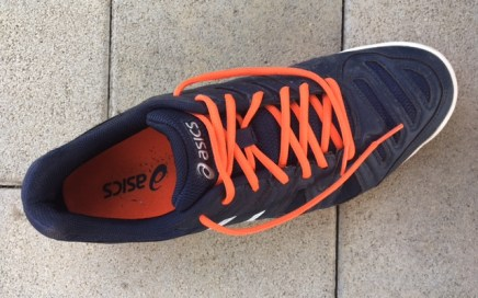 My Asics Tennis Shoes for Clay