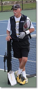 Owen Davidson at the John Newcombe Tennis Ranch