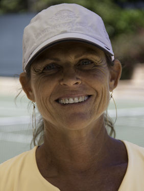 Robin White, Rancho Valencia's Director of Tennis