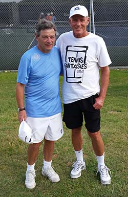 Rod Lave at John Newcombe's Legends Week