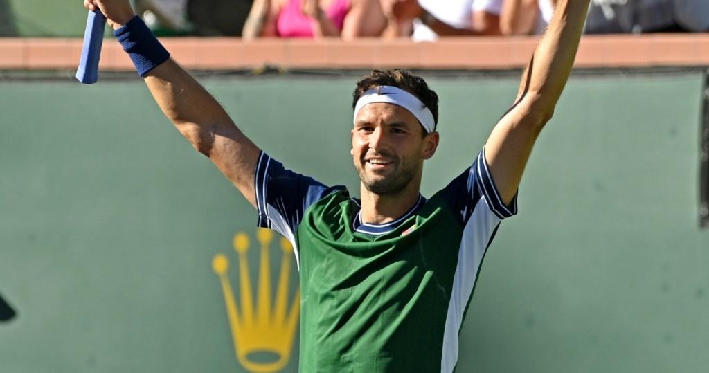 Grigor Dimitrov Cameron Norrie Indian Wells Open