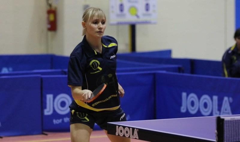 Prima vittoria per Irina (Foto Gianluca Piu)