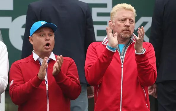 Djokovic and Becker part company