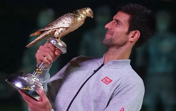 First blood to Djokovic