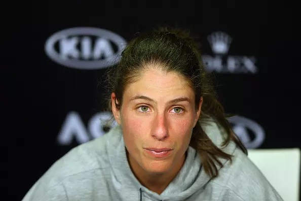 Konta's run comes to an end