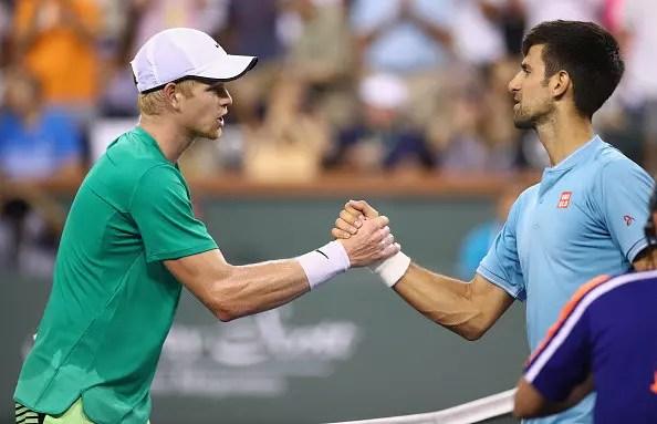 Djokovic, Nadal and Federer through