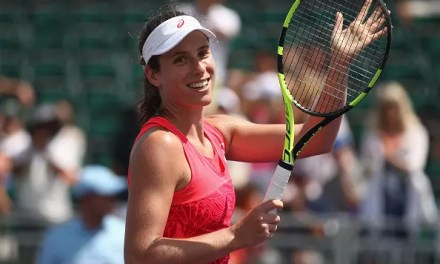 This time Konta cruises