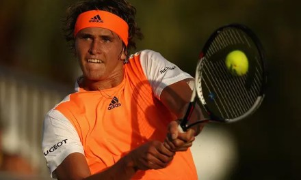 Zverev upsets top seed