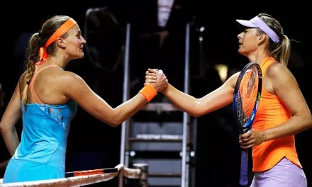 Sharapova and Murray beaten