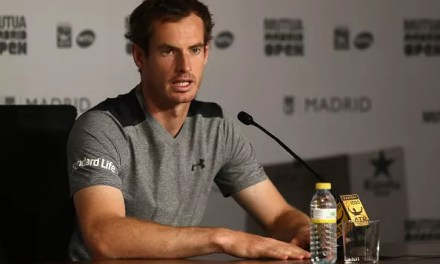 Disappointment for Murray