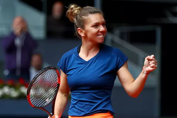 Halep remains on course