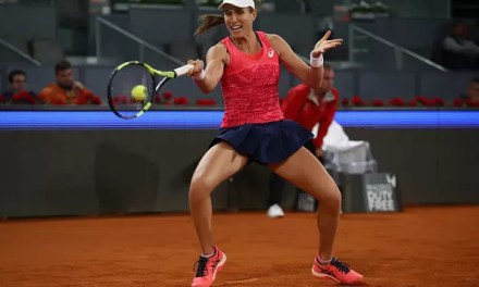 Johanna Konta suffers first-round defeat in Madrid