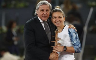 Nastase casts shadow over Halep's victory