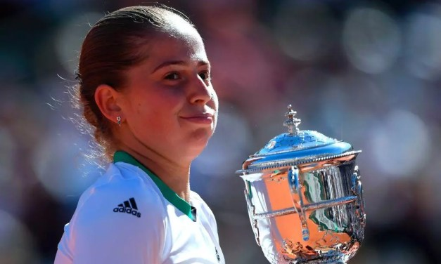 French Open   Ostapenko blasts her way to victory