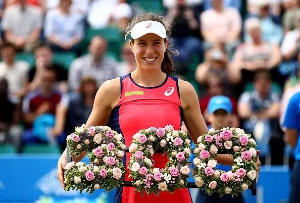 Nottingham Open | Konta reaches career landmark