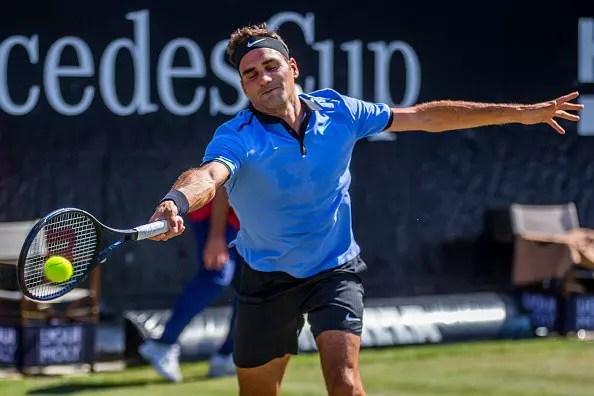 Stuttgart Open   Federer is beaten in his first outing on grass