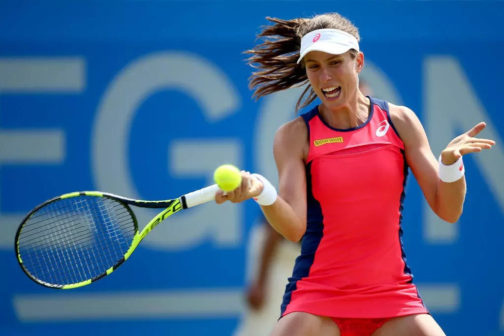 Konta wins to reach first Nottingham Open final