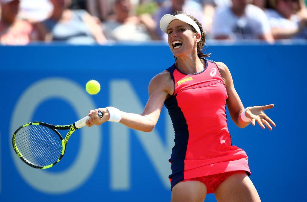 Nottingham Open | Konta Reaches her first WTA Grass-Court Final