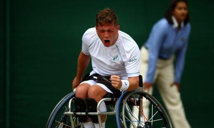 Wimbledon Day 10 | Hewett reaches first wheelchair singles semi-final at SW19