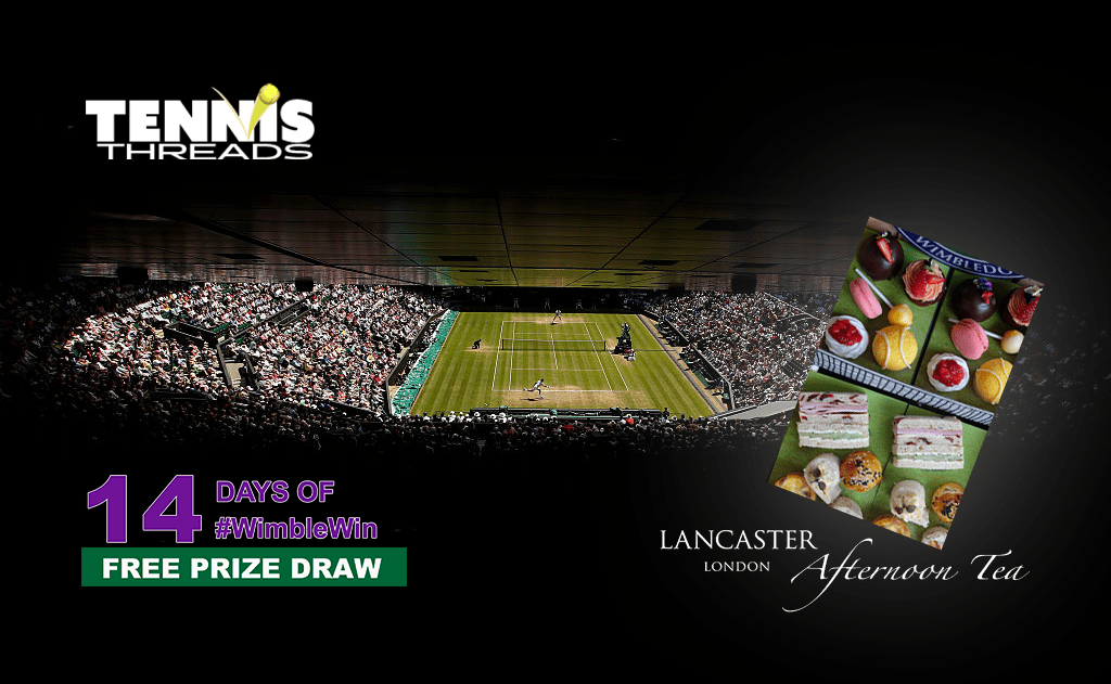 Win with #WimbleWin Day 2 | Champagne Afternoon Tea at Lancaster London