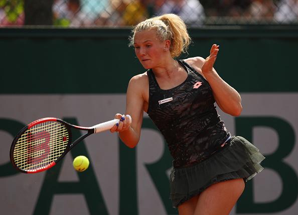 Bastad   Siniakova stunns Wozniacki