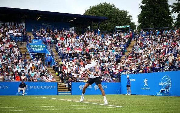 Eastbourne   Djokovic eases into final