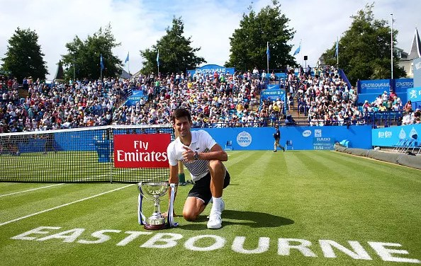 Eastbourne | Djokovic successfully completes his refresher