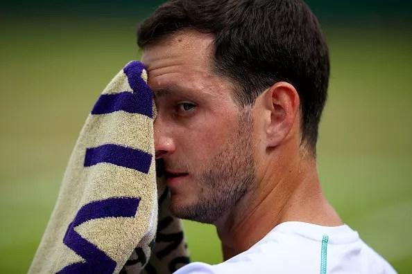 Wimbledon Day 2   Ward and Klein find it tough