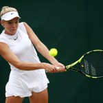 Wimbledon Day 8 | Katie Swan eases into round three