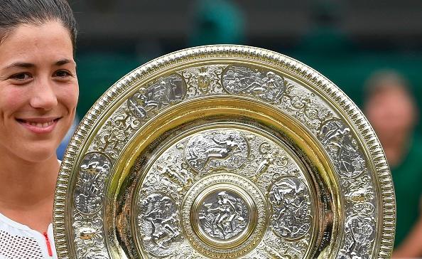 Wimbledon Day 12   Muguruza claims the ladies' title